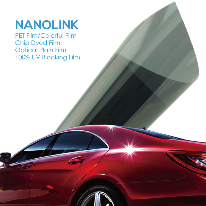 Anti Heat Nano Ceramic Sun Blocking Film For Home / Auto Windows 25um -50um Thickness